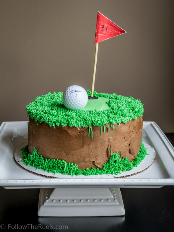 Golf Cake Follow the Ruels