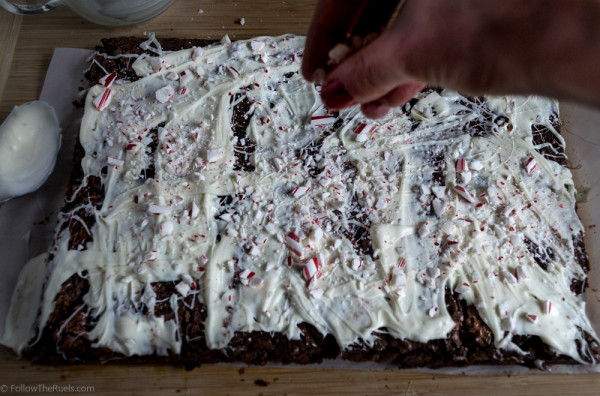 Peppermint Bark Brownies-3