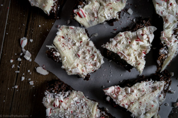 Peppermint Bark Brownies-7