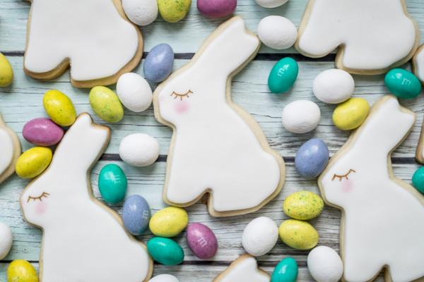 Easter Bunny Cookies-10