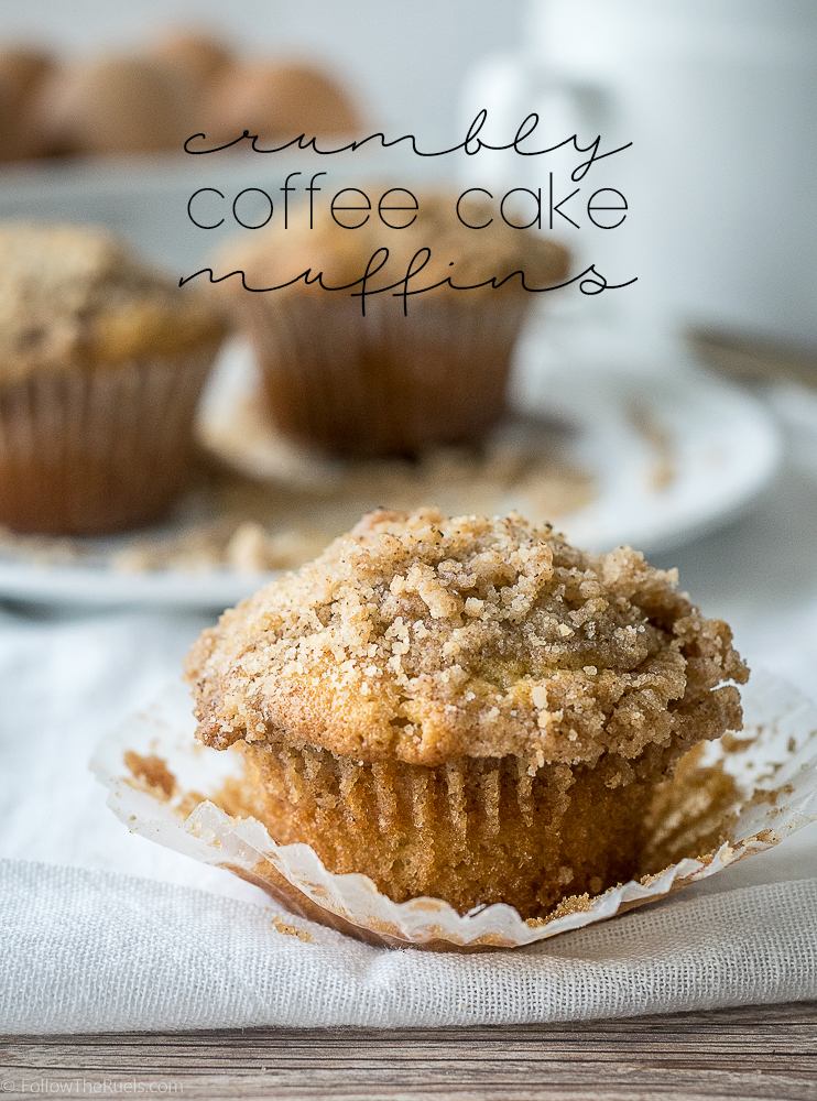 Crumbly Coffee Cake Muffin Recipe