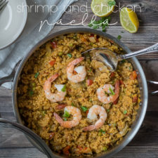 Shrimp and Chicken Paella