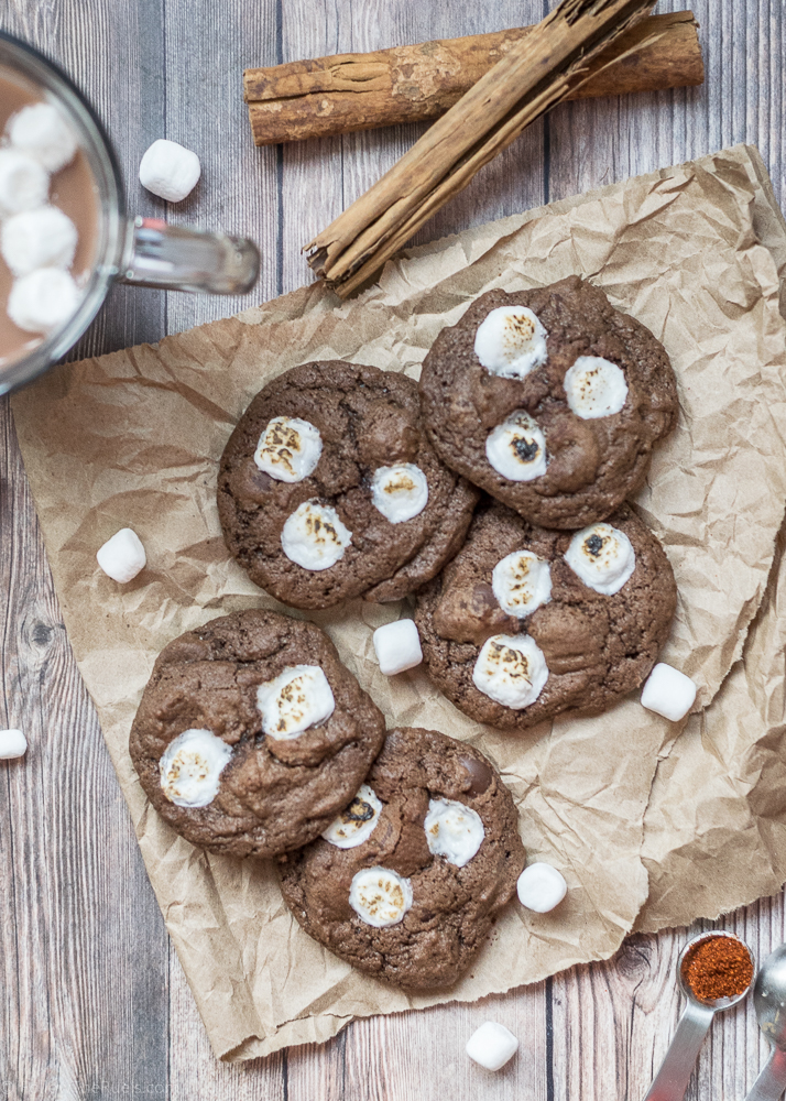 Mexican Hot Cocoa Cookies-1