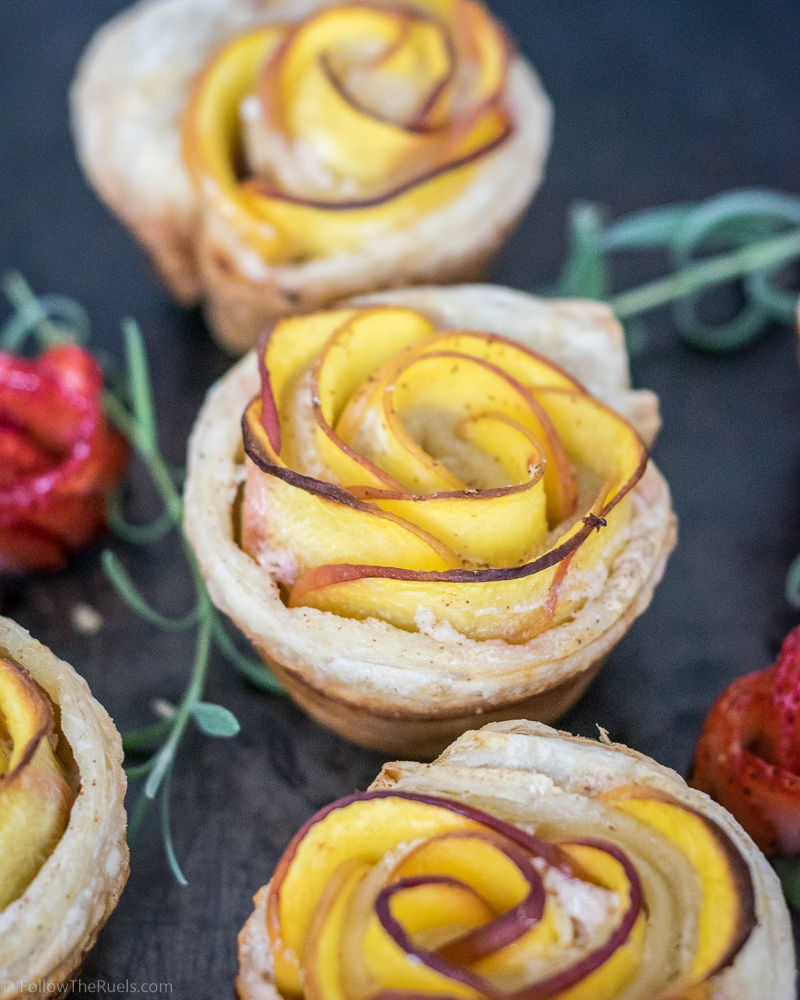 Pretty Peach Tartlets