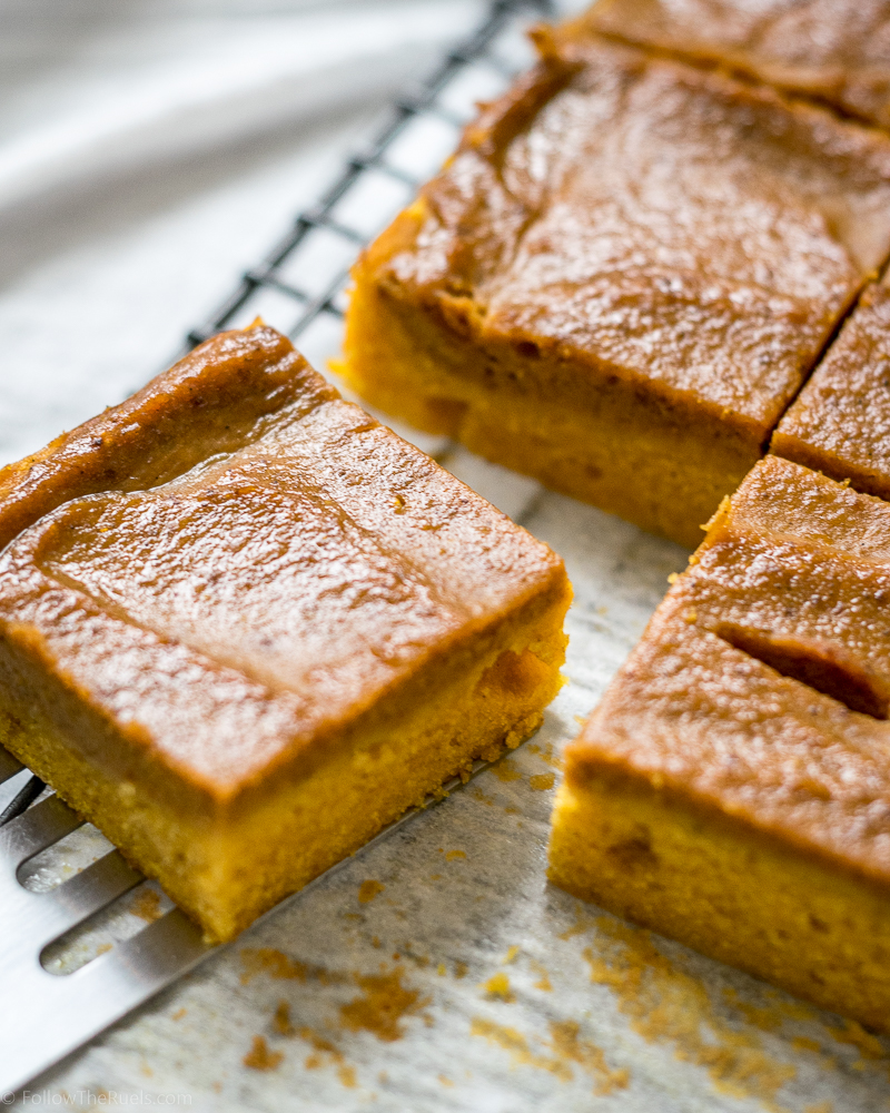 Soft Pumpkin Bars