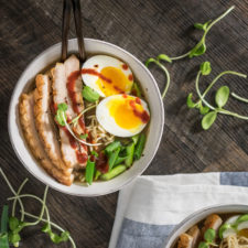 Pork Belly Ramen Bowl