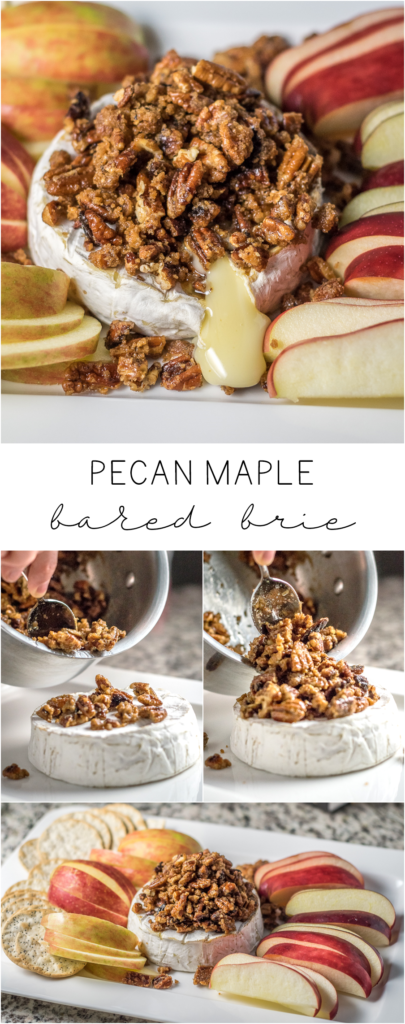 Pecan Maple Baked Brie | Follow the Ruels