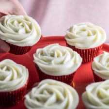 Classic Red Velvet Cupcakes (made without Food Coloring)