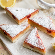 Delicious Raspberry Lemon Bars
