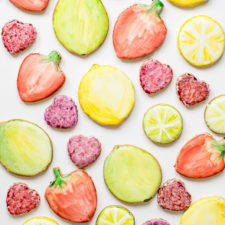 Water Color Fruit Cookies (+ NEW Sugar Cookie Recipes!)