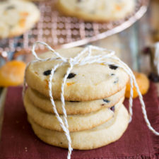 Panettone Slice-and-Bake Cookies