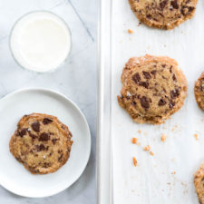 Chocolate Chunk Shortbread Cookies