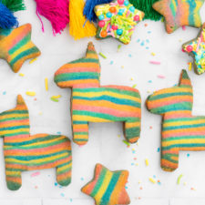 Sprinkle Stuffed Piñata Cookies