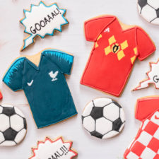 World Cup Sugar Cookies